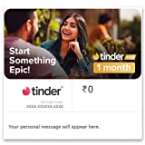 Each code is valid till 14 November 2021. No extension for the same will be provided under any circumstances. Upgrade to Tinder Plus with premium features like: See who Likes You before you Like or Nope New Top Picks every day: your most swipe-worthy...