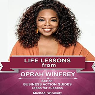 Life Lessons from Oprah Winfrey audiobook cover art