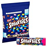 Nestle Smarties, Original English Imported From The UK England Colorful Milk Sweets In A Crisp Sugar Shell British Colored Candy, Chocolate, 5.32 Ounce