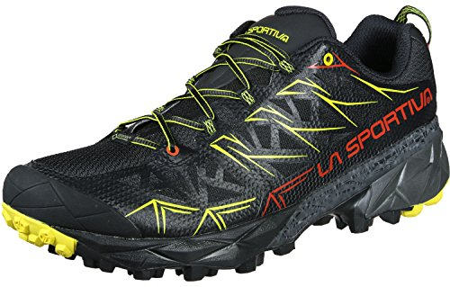 La Sportiva Akyra GTX, Zapatillas de Trail Running Hombre, Negro (Negro 000), 44 EU