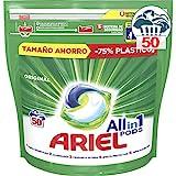 Ariel Todo En Uno Pods Original Detergente En Cápsulas 48 Pods, 48Lavados, Perfecto Para Lavar A Baja Temperatura, Perfume Duradero