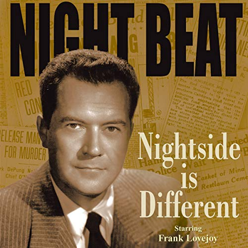 Night Beat: Nightside Is Different audiobook cover art