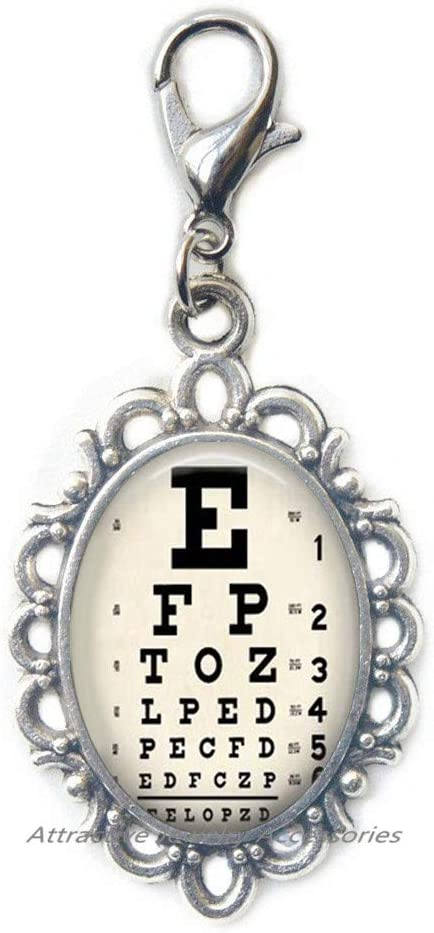 Deluxe Eye Chart Jewelry Zipper Ch Gift Pull New arrival