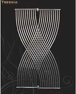 Radiador de diseño, de baño Treccia blanco