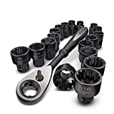 CRAFTSMAN 19 PIECE UNIVERSAL MAX AXESS WRENCH SET