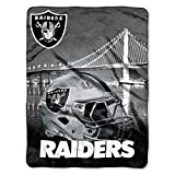 The Northwest Company NFL Las Vegas Raiders Heritage Silk Touch Throw Blanket, 60' x 80', Multicolor, One Size (1NFL071030019RET)