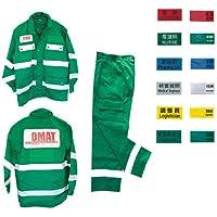 DMATユニフォームジャケット ミドリ DMATユニフォームジャケット M(23-2386-00-02)【ノルメカエイシア】[1枚単位]