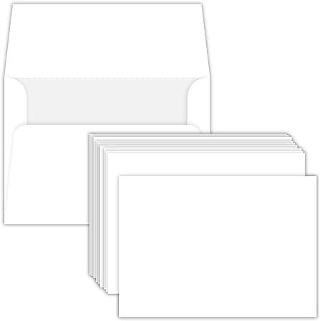 A2 StationeryNotecard Extra Envelopes Blank or Printed with Return Address Size Envelopes.
