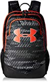 Under Armour Boy's Storm Scrimmage Backpack, Black (004)/Radio Red, One Size Fits All