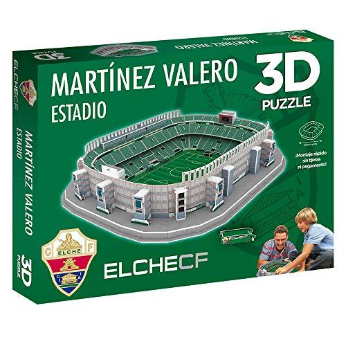 Eleven Force Puzzle 3D Estadio Martínez Valero Producto