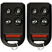 KeylessOption Keyless Entry Remote Car Key Fob for OUCG8D-399H-A (Pack of 2)