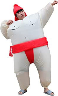 Special Costume for Performance of Funny Sumo Inflatable Suit Wrestler Wrestling Suits Blow Up Suit for Adult
