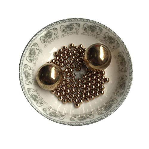 Kupferkugel aus massivem Messing, 1/2/3/4/5/6/7/8/10/12/15/19/20 mm, hochpräzise Kupferkugel nach nationalem Standard-3,5 mm 100 Tabletten