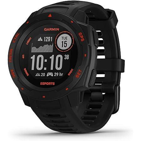 ガーミン Instinct, Esports Edition, GPS Watch, Black Lava,JPN 小