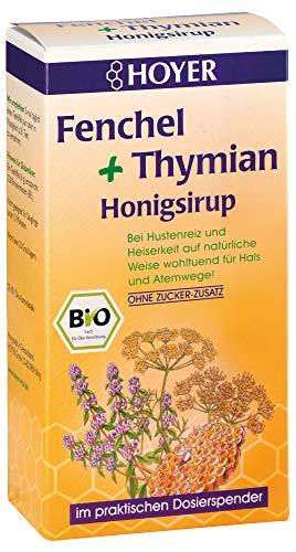 Hoyer Bio Fenchel Thymian Honigsirup (2 x 250 gr)