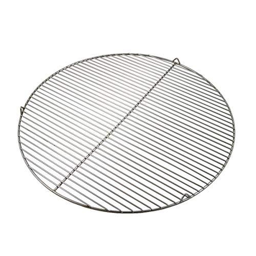 PrimoLiving Edelstahl Grillrost rund mit Haken für Schwenkgrill (Ø 54,5 cm mit Haken)