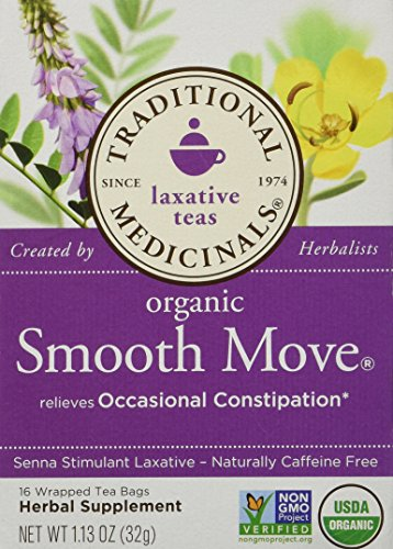 Traditional Blends Tea's-Smooth Move Traditional Medicinals 16 Bag, Net Wt. 1.13 Ounce