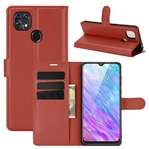 betterfon   Handyhülle ZTE Blade 10 Smart - Hülle Handy Tasche PU Leder mit Magnetverschluss/Kartenfächer für ZTE Blade 10 Braun