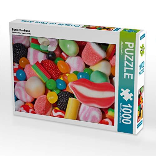 CALVENDO Puzzle Bunte Bonbons 1000 Teile Lege-Größe 64 x 48 cm Foto-Puzzle Bild von ATLANTISMEDIA
