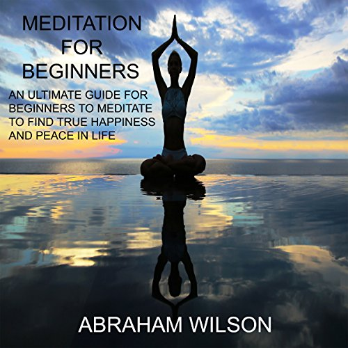 Meditation: For Beginners audiobook cover art