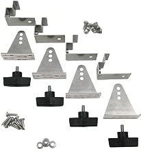 AM Solar 35mm Tilting RV Solar Panel Mount Set