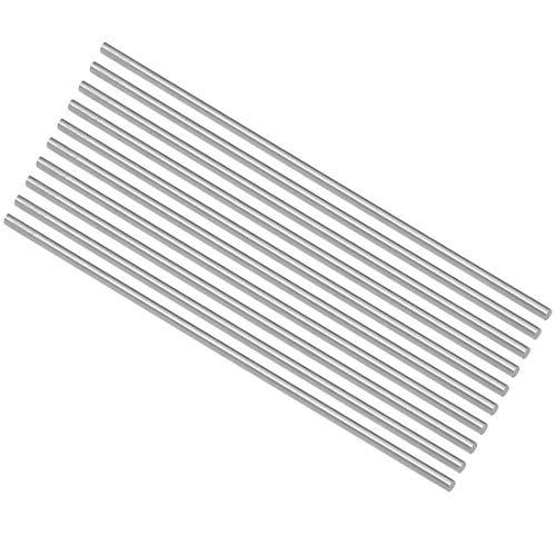 Ersatz-Stahl Sourcingmap Rundstab f/ür Drehmaschinen Hochgeschwindigkeitsstahl 1 mm Durchmesser 100 mm lang 15 St/ück f/ür Drehmaschinen