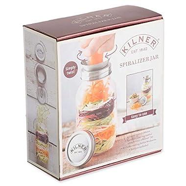 New! Kilner Spiralizer Kit, Zoodle Maker and Storage Jar