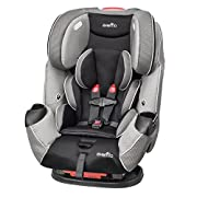 This All-In-One Convertible Car Seat fitting children from 5-110 pounds is the only car seat you'll ever need providing rear-facing, forward facing and booster capabilities The Symphony LX helps protect rear facing infants from 5-40 pounds, forward f...
