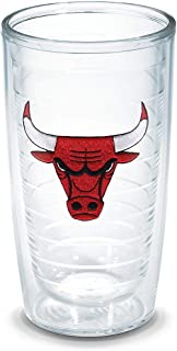 "Tervis ""NBA Chicago Bulls Head"" Tumbler, 16 oz, Clear"