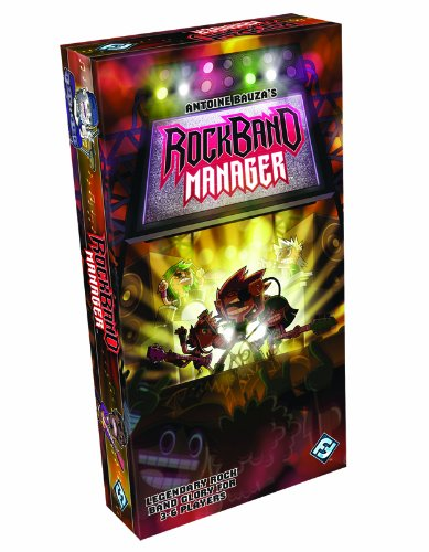 Rock Band Manager Card Game