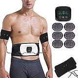 Abs Stimulator Abdominal Trainer Ultimate Waist Trimmer Ab Stimulator Men Women Work Out Ads Power...