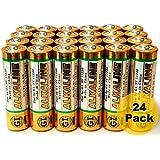 AA Batteries 1.5 Volt GI Alkaline Double A Battery (24)