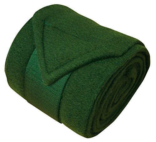 Harry's Horse Bandages Fleece 3m, 4 st, Farbe:Olive