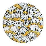 Donald Duck Naruto Uchiha Itachi - Imanes de nevera de cristal - Juego de imanes de nevera de cristal para pizarra, imanes decorativos para niñas y niños (redondos/30 mm)