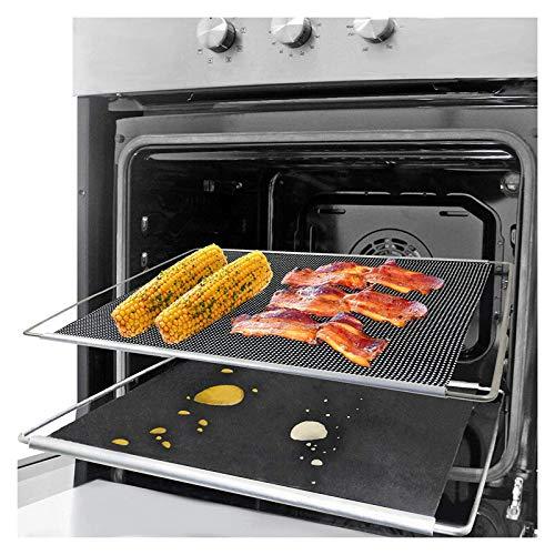 Spares2go Lot de 2 plateaux de cuisson extensible et réglable pour plaque de cuisson Amica 320 x 430 à 630 mm