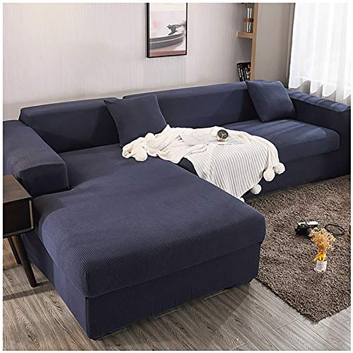 Hammock Stretch Sofa Slipcovers Couch Covers,Spandex Polyester Sofa Cover Lattice Jacquard Furniture Cover, Washable Furniture Protector for Living Room,Children and Pets