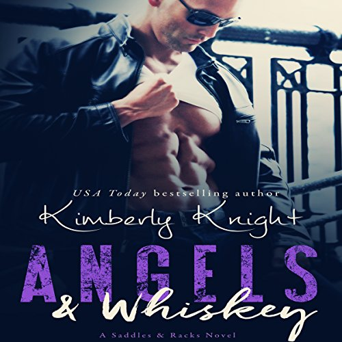 Angels & Whiskey audiobook cover art