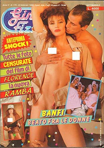 Gin Fizz Rivista erotica Anno 1989. 23 febbraio n.179. Lino Banfi beato tra le donne