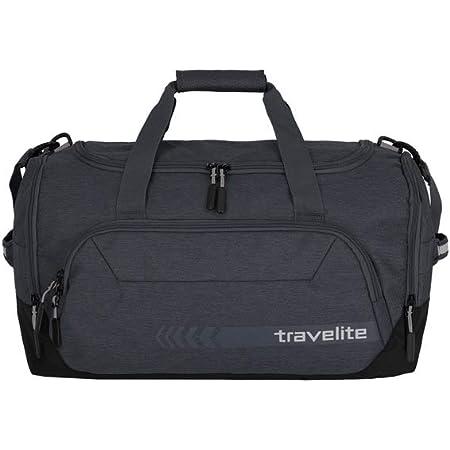 travelite Reisetasche Größe M, Gepäck Serie KICK OFF: Praktische Reisetasche für Urlaub und Sport, 006914-04, 50 cm, 45 Liter, d'anthrazit (grau)