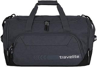 Travelite Reisetasche Größe M, Gepäck Serie KICK OFF: Praktische Reisetasche für Urlaub und Sport, 006914-04, 50 cm, 45 Liter, d'anthrazit grau