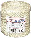 大橋金属 調理用糸 15号 太口 玉型バインダー巻360g 綿 日本 CTY0215