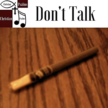 The Christian Grind Movement - Don't Talk