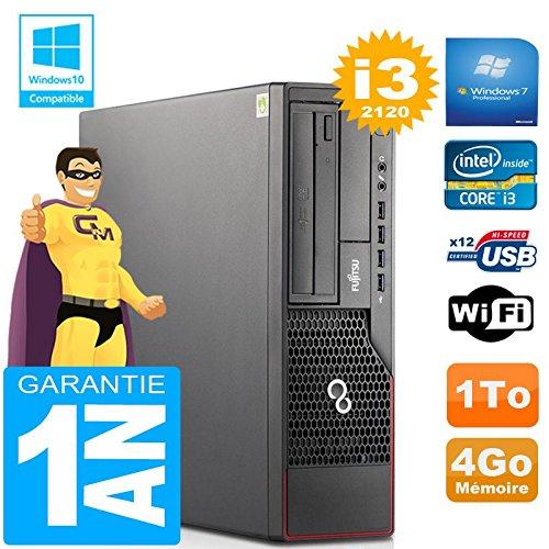 Fujitsu PC Esprimo E700 E90+ SFF Core I3-2120 RAM 4gb Scheibe 1 TG Wifi W7 (Generalüberholt)