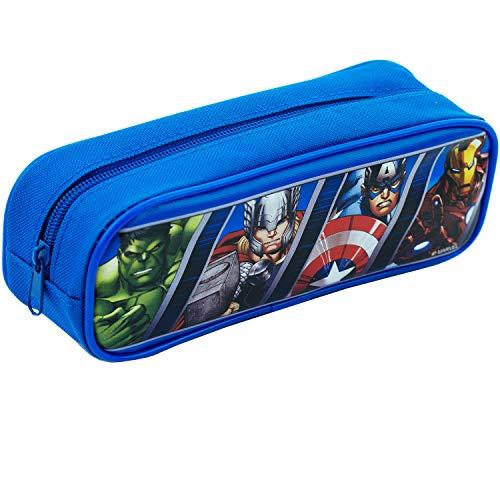 Marvels Avengers Blue Pencil Case Pouch Bag