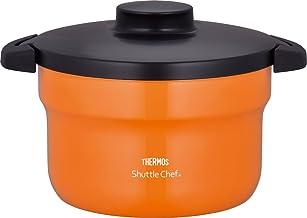 """THERMOS Vacuüm Warm Fornuis """"Shuttle Chef"""" KBJ-3000 OF (Oranje) Japan Binnenlandse echte producten"""