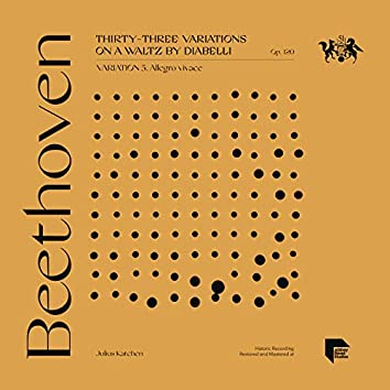 Beethoven: Thirty-Three Variations on a Waltz by Diabelli, Op. 120: Variation 5. Allegro vivace