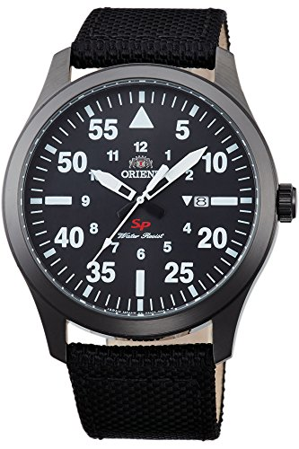 Orient Herren Analog Quarz Uhr mit Leder Armband FUNG2003B0
