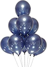 AZOWA Navy Blue Latex Balloons 12 inch Small Party Balloons Pack of 100 for Wedding Baby Shower Birthday Party Decorations
