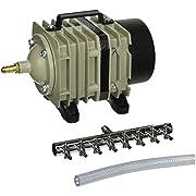Hydrofarm Active Aqua Commercial Air Pump, 8 Outlets, 60W, 70 L/min