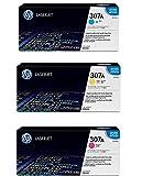 HEW HP 307A CE741A CE742A CE743A Print Cartridge CP5225 Color Set CYM